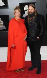 Chris Stapleton și Morgane Stapleton, însărcinată cu gemeni