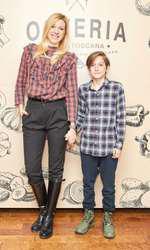 Sonia Argint și fiul său