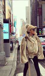 Adelina Pestrițu în New York