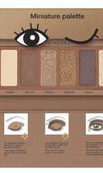 Trusă de farduri, Sephora, Miniature Palette Cookie, 46 lei