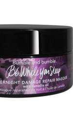 Mască de noapte reparatoare pentru păr, Bumble&Bumble, While you sleep, 199 lei, disponibilă Sephora