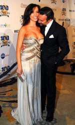 Valentina si Francesco Quinn