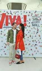 Anca Serea si Adi Sina la VIVA shopping with stars