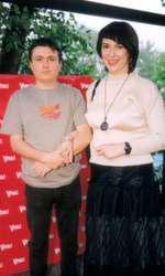 Cristian Mungiu și Izabela Coman