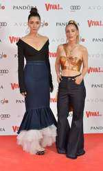 Diana Enciu și Alina Tanasă - ținute Maria Lucia Hohan