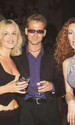 Tania Budi, alături de partenerul de atunci, Oliver, și de Mihaela Rădulescu