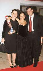 Ada Teslaru (redactor-șef Viva la vremea aceea), Andreea Esca și Alexandre Eram