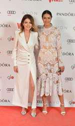 Alexandra Dinu (rochie Alessandra Rich) și Ioana Urețu (rochie Mastij Clothing)