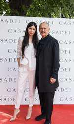 Alexandra Cristea (Casadei Boutique PR) si Cesare Casadei