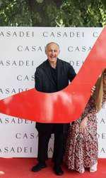 Cesare Casadei si Arianna Casadei (fiica)