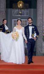 Prinţul Carl Philip al Suediei şi Sofia Hellqvist, în 2015