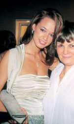 Andreea Raicu la VIVA! Party în 2002