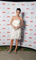 Andreea Raicu la VIVA! Party în 2008
