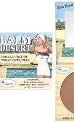 Pudră bronzantă, The Balm, Desert Bronzer Blush, 89 lei, disponibilă Douglas