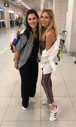 Andreea Bănică şi sora sa, Ramona, au plecat în vacanţă împreună