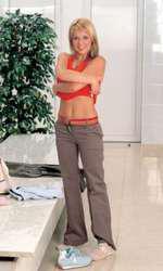 La începutul anilor 2000, Dana mergea regulat la sală