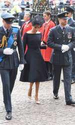 Meghan Markle, alături de Prinţul Harry şi Prinţul William