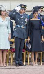 Prinţul William, Kate Middelton, Prinţul Harry şi Meghan Markle