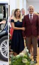 Irina Tănase, iubita lui Liviu Dragnea, s-a inspirat de la Meghan Markle. Rochia, un Roland Mouret, costă 1350 de lire sterline.