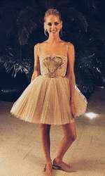 Ultima rochie a serii, creație Dior