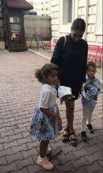 Traian Jr. şi Sofia Anais au început grădiniţa