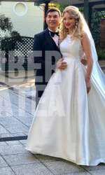 imagini nuntă Valentina Pelinel și Cristi Borcea
