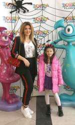 Diana Bișinicu și fiica ei, Riana