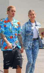 Justin Bieber și Hailey Baldwin, actuala lui soție.
