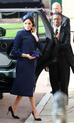 Meghan Markle la nunta Prinţesei Eugenie.