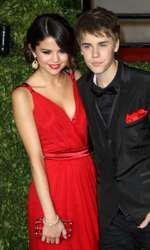 Justin Bieber și Selena Gomez, pe vremea când formau un cuplu fericit.