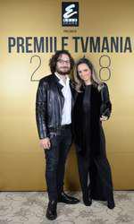 Cristina și Florin Dumitrescu la Premiile TVmania 2018
