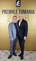 Marius Florea Vizante și Virgil Ianțu la Premiile TVmania 2018