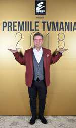 Pavel Bartoș la Premiile TVmania 2018