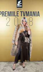 Raluca Bădulescu la Premiile TVmania 2018