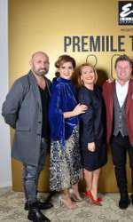 Cătălin Scărlătescu, Amalia Enache, Andreea Esca, Pavel Bartoș, Florin Dumitrescu și Corina Caragea la Premiile TVmania 2018