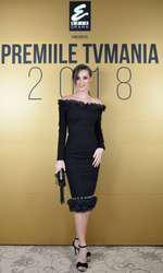 Anamaria Barnoschi la Premiile TVmania 2018