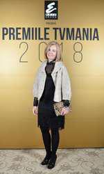 Augusta Lazarov la Premiile TVmania 2018