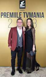 Pavel Bartoș și Irina Fodor la Premiile TVmania 2018