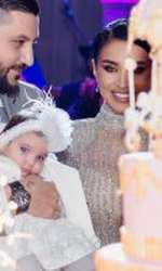 Imagini de la petrecerea de botez a fiicei Adelinei Pestritu