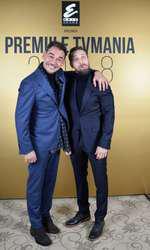 Răzvan Simion și Dani Oțil la Premiile TVmania