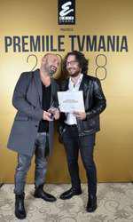 Cătălin Scărlătescu și Florin Dumitrescu la Premiile TVmania 2018