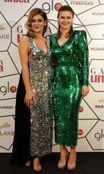 Amalia Enache si Raluca Hagiu (redactor sef UNICA) - cum s-au îmbrăcat vedetele la Gala Unica 2018