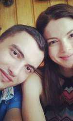 Anca Lungu și fratele ei, Andrei, fotograf