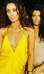 Claudia Pavel și sora ei, Paula, makeup artist