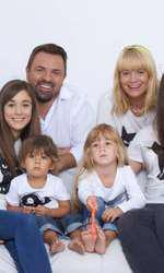 Horia Brenciu si familia lui