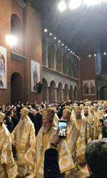 Slujba de sfințire a Catedralei Mântuirii Neamului (4)