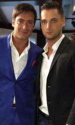 Radu Vâlcan și fratele său, Cristian