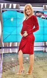 Simona Gherghe pe vremea când era însărcinată cu Ana Georgia