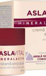 Cremă hidratantă antipoluare SPF10, Aslavital Mineralactiv, 31,24 lei