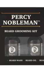 Set îngrijire barbă, Percy Nobleman, Beard Grooming Kit, 189 lei, disponibil Douglas